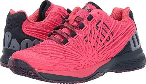 Wilson KAOS 2.0 Womens Tennis Shoe - Paradise Pink/Blueberry/Flint Stone - Size 8 (Wilson Womens Tennis Apparel)