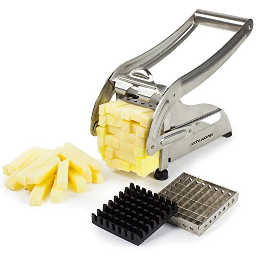 Andrew James Potato Chipper and Vegetable Chopper - Chip Maker and French...