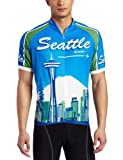 Canari Cyclewear Men's Seattle Short Sleeve Cycling  Jersey