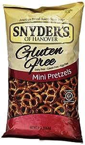 Snyder's of Hanover Gluten Free Mini Pretzels 3 Pack - 8oz.