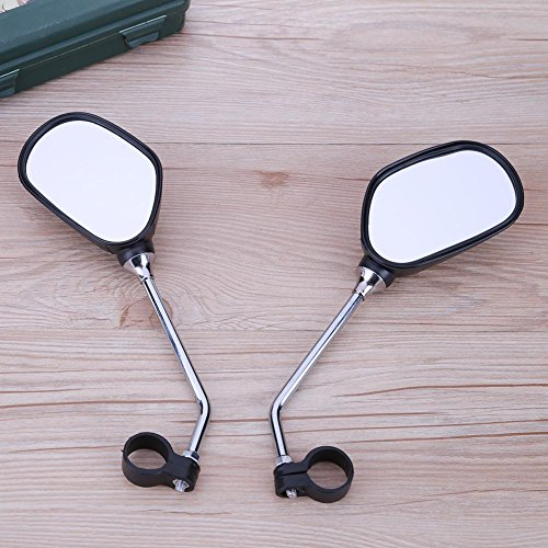 Alloet 1Pair Bicycle Handlebar Mirror Bicycle Mountain Road Bike Rearview by Alloet (Image #3)