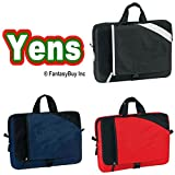 "Cheap Yens® Fantasybag ""Cross"" Travel Laptop Sleeve-Black, 9232"