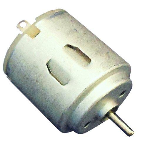 Ajax Scientific Round Mini Motor 1.5-3V, 8.5mm Shaft Length (Pack of 5)