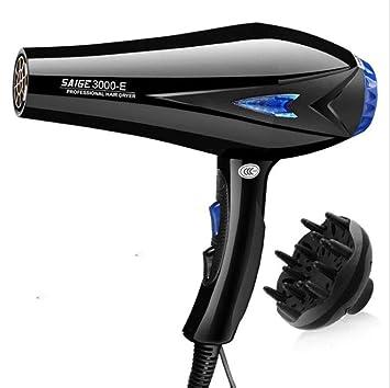 CFJ-GY Secadores de pelo Secador de cabello iónico de 3000 vatios con acondicionador iónico (negro): Amazon.es: Salud y cuidado personal