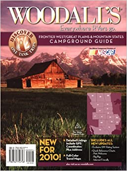 Woodall's Frontier West/Great Plains & Mountain Region Campground Guide, 2010
