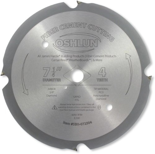 oshlun-sbh-072504-7-1-4-inch-4-tooth-pcd-saw-blade-with-5-8-inch-arbor-diamond-knockout-for-fiber-ce