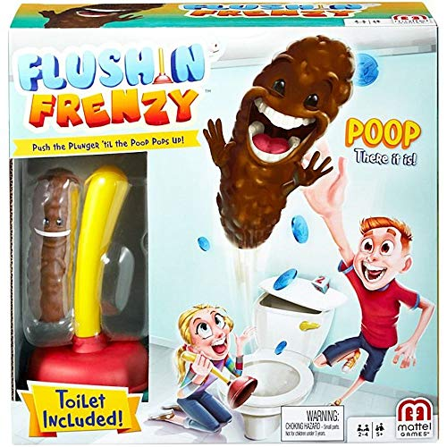 Mattel Flushin' Frenzy Game for Kids (Ages 5 and Up)