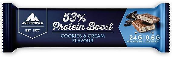 Multipower 53% Protein Bar (24x50g) 24 Unidades 1200 g