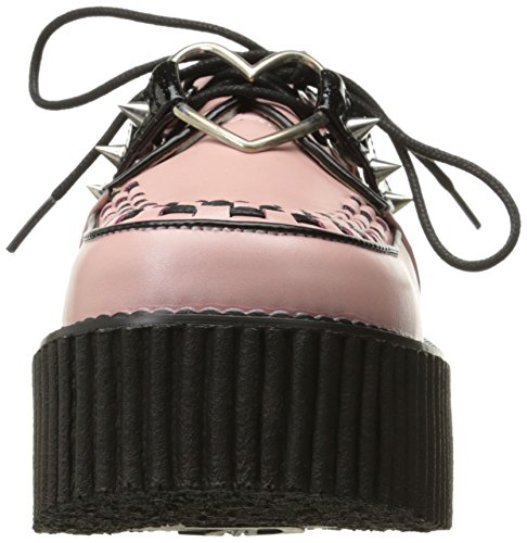 Pink B Fashion Women's Leather Bpvl Cre206 Sneaker Demonia Vegan 6w4pZTqBv