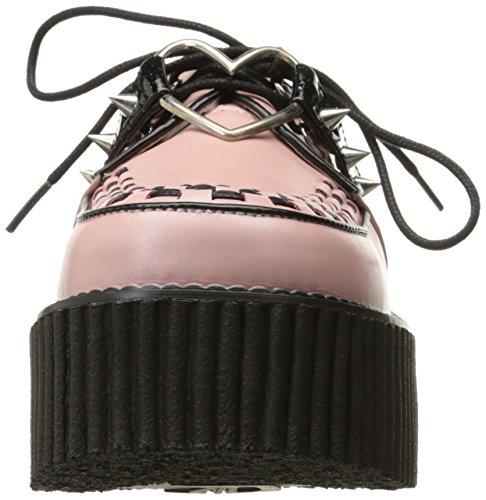 Basses Creeper 206 B Pleaser Vegan Femme Pink Baskets Leather qwPROU