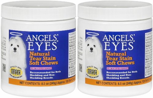 Angels' Eyes Natural Soft Chew Chicken Flavor 240ct Dog (2 x 120ct) by ANGELS' EYES