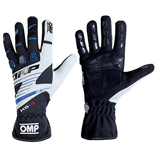 OMP KS-3 KS3 Kart Gloves KK02743E High Grip Karting in Adult & Child Sizes ()