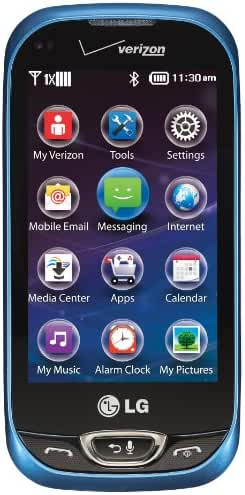 LG Extravert 2, Blue (Verizon Wireless)