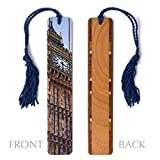 Big Ben - Color Photograph by Mike DeCesare - Wooden Bookmark with Tassel