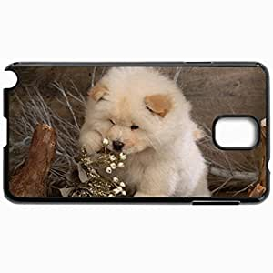 Customized Cellphone Case Back Cover For Samsung Galaxy Note 3, Protective Hardshell Case Personalized Dog Black