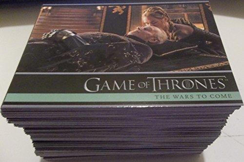 2016 Game of Thrones Season 5 Trading Cards 100-Card Base Set