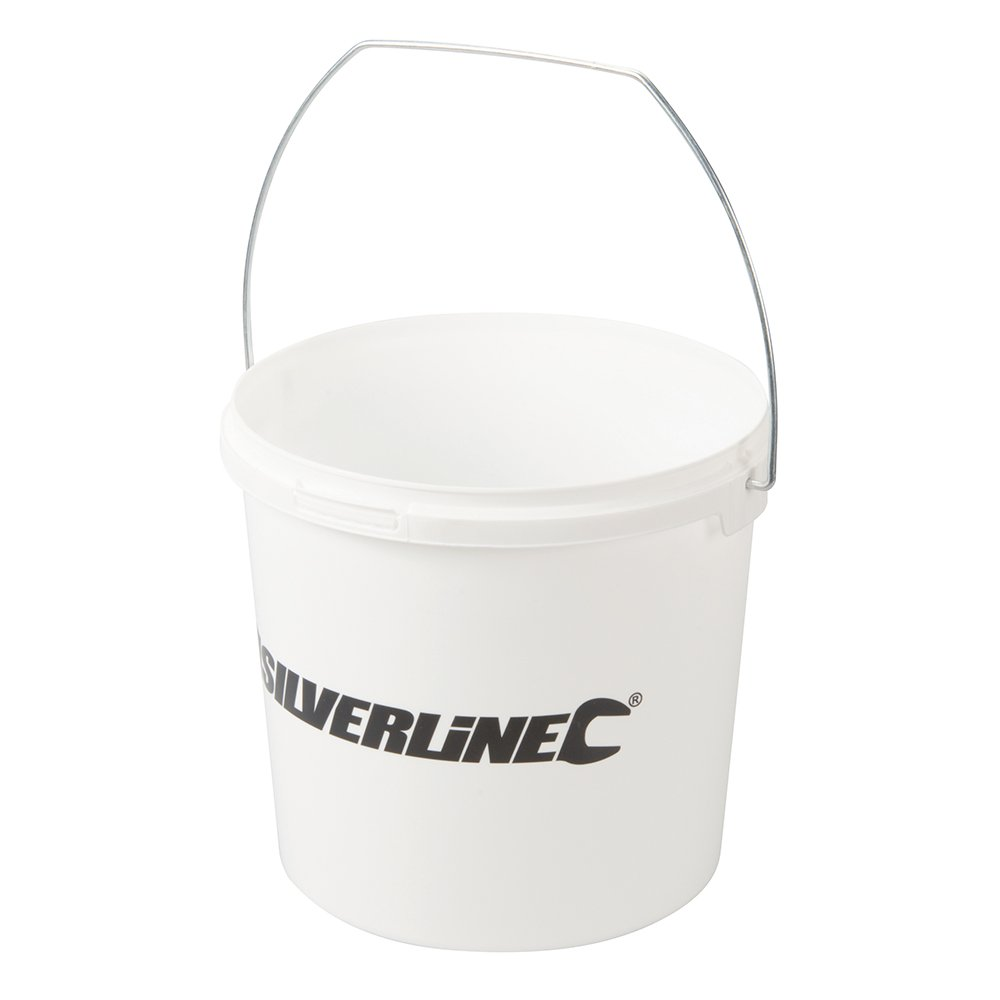 Silverline 846839 Plastic Bucket-Type Paint Kettle 2.5Ltr
