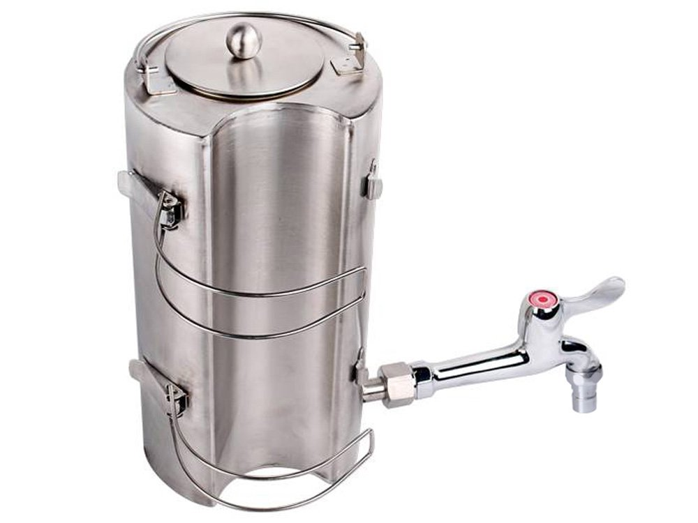 Amazon.com : TMS Stainless Steel Outdoor Water Kettle For Wood Military  Camping Stove Flue Pipe : Sports U0026 Outdoors