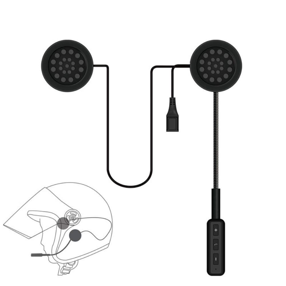 Moteur Sans Fil Bluetooth Casque Moto Casque Écouteur Casque Haut-Parleur Musique Mains Libres Pour MP3 MP4 Smartphone GRASSAIR