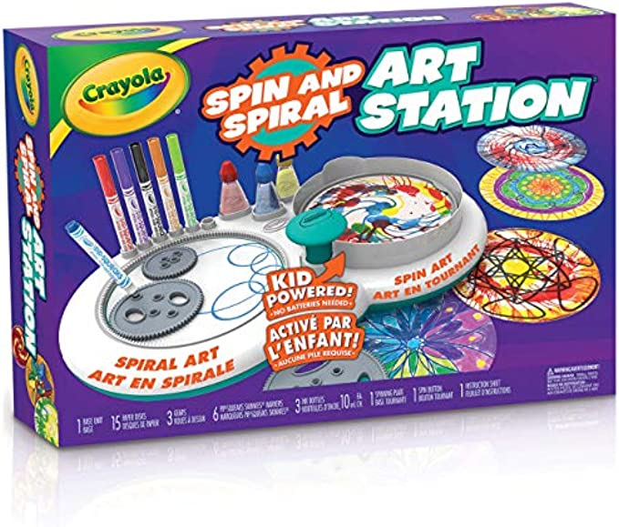 Crayola Spin & Spiral Art Station, DIY Crafts