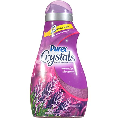 Firelight Crystal - Purex Crystals In-Wash Fragrance Booster, Lavender Blossom, 48 Ounce