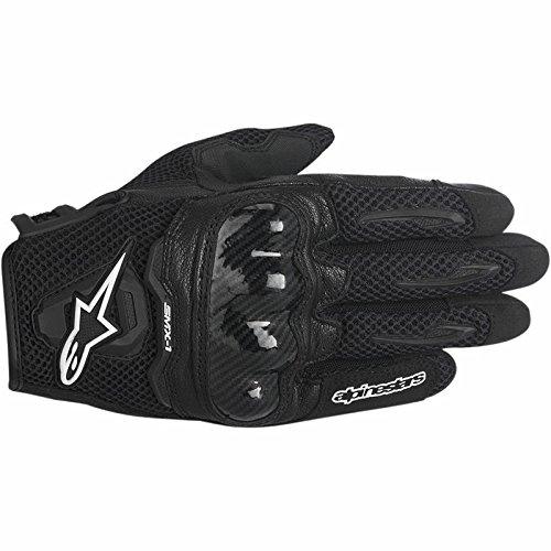 Alpinestars SMX-1 Air Mens Motorcycle Gloves - Black - Medium