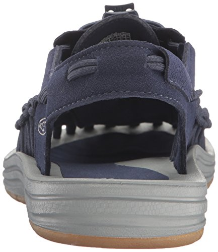 Keen Uneek, Scarpe da Escursionismo Uomo Dress Blues/Neutral Gray