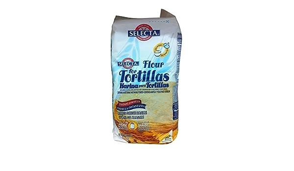 Amazon.com : Selecta Flour Tortilla Ready Mix 2.2lb Bag : Grocery & Gourmet Food
