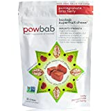 Baobab Superfruit Chews® by powbab - 750mg Raw Antioxidant Baobab Superfood, Immunity Boost, Pomegranate Acai Berry, 30 Chews