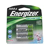 Eveready - e2 NiMH Rechargeable Batteries, AAA, 4/pack - Pack of 10