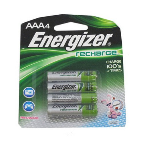 Energizer : e NiMH Rechargeable Batteries, AAA, 4 Batteries per Pack -:- Sold as 2 Packs of - 4 - / - Total of 8 ()
