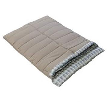 quality design 013cb 41598 Vango Aurora Vario Double Sleeping Bag, Square Sleeping Bag with Adjustable  Warmth and Two-Way Auto-Lock Zip, Nutmeg