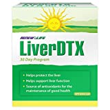 Renew Life LiverDTX, Liver Cleansing and Protecting Supplement, 30 Day Program, 1 Kit