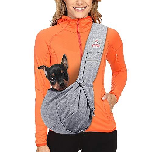 MRELEC Pet Dog Carrier Sling Backpack Shoulder Snuggle Outdoor product image
