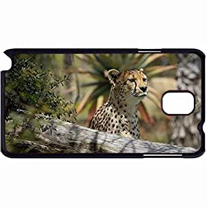New Style Customized Back Cover Case For Samsung Galaxy Note 3 Hardshell Case, Back Cover Design Cheetah Personalized Unique Case For Samsung Note 3