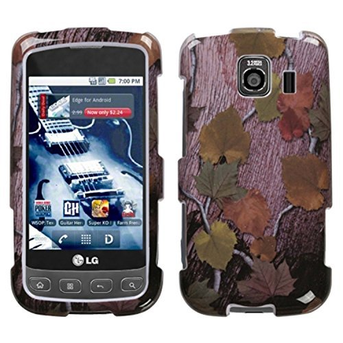 (MYBAT LGLS670HPCIM680NP Slim and Stylish Protective Case for LG Optimus S/Optimus U/Optimus V - 1 Pack - Retail Packaging - Hunter)