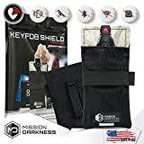 Mission Darkness Faraday Bag for Keyfobs - Device Shielding for Smart Always On Keyfobs for Automobile Owners, Law Enforcement, Military, Executive Privacy, Travel Security, Anti-Hacking Assurance