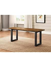 Stylish Modern Design Better Homes And Gardens Sturdy Metal Base Mercer  Kitchen U0026 Dining Room Table