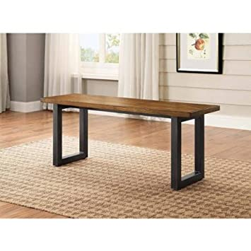 Stylish Modern Design Better Homes And Gardens Sturdy Metal Base Mercer Kitchen Dining Room Table