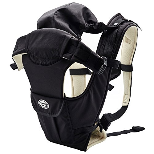 Great Features Of Lifewit Baby Carrier Soft Front baby Backpack 5 Carrying Positions for 7.9-26.4lbs...