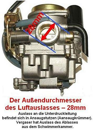 Unbranded VERGASER Auto Choke /& Z/ÜNDSPULE KIT Set f/ür SYM Jet 50