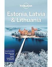 Lonely Planet Estonia, Latvia & Lithuania 8 8th Ed.