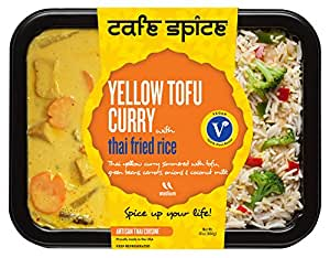 Cafe Spice Meal To Go Tofu Yellow Curry Combo, 16 oz