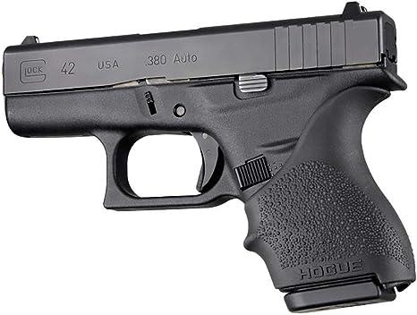 Amazon Com Hogue 18200 Hand All Beavertail Grip Sleeve Glock 42 43 Black Sports Outdoors