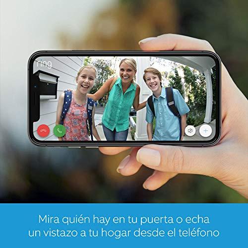 detecci/ón de movimiento comunicaci/ón bidireccional Ring Video Doorbell 2 V/ídeo HD 1080p conexi/ón Wi-Fi