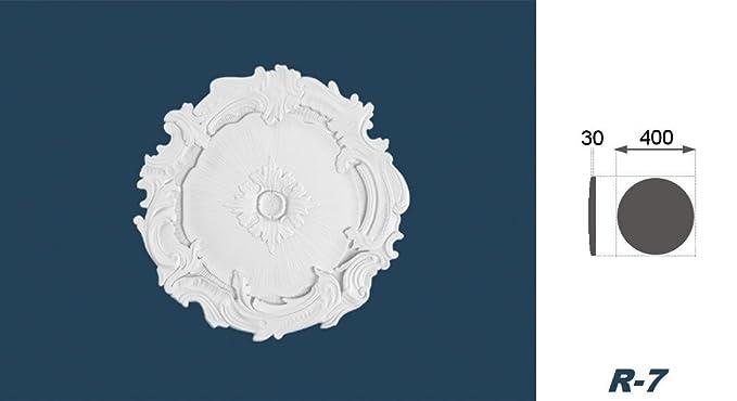 1 Rosette Rosace Plafond Dekorrosette Moulures Décor