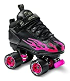 Sure-Grip Rock Flame Ruby Rollerskates (Mens 4/Womens 5-5.5)