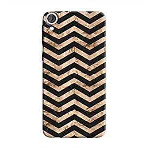 Cover It Up - Brown Black Tri Stripes Desire 820 Hard case