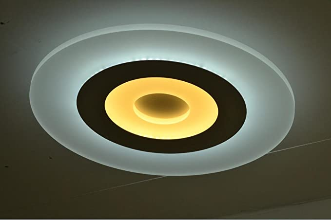 Fx@ Acrílico luz de techo moderna simple lámpara luz ...