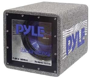 """Pyle PLQB12 Pre-loaded subwoofer subwoofers para coche - Subwoofer para coche (Pre-loaded subwoofer, 25 - 600000 Hz, 600 W, 4 Ω, 30,5 cm (12""""), Bandpass)"""